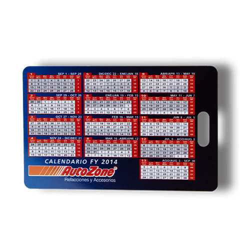 Calendario Con Plastikko