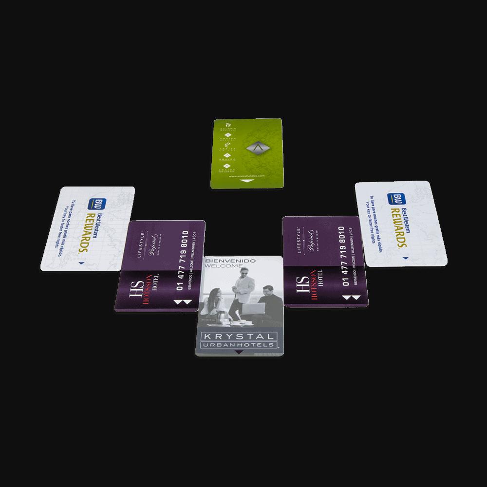 tarjeta llave de acceso