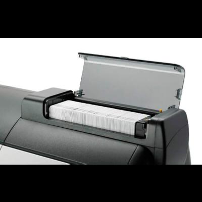 plastikko ofrece impresora de tarjetas modelo zxp7 zebra abierta