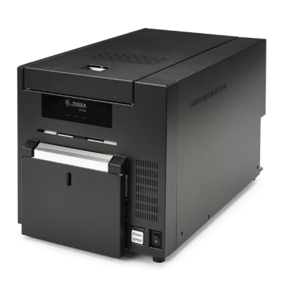 plastikko ofrece impresora de tarjetas modelo zc10l zebra impresora de credenciales