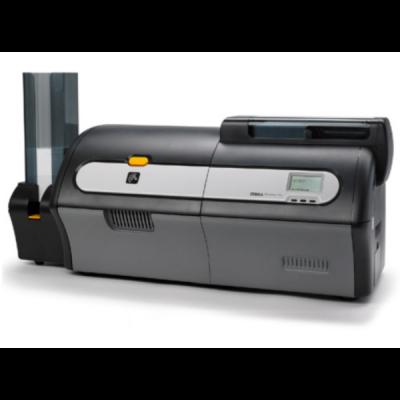 plastikko ofrece impresora de tarjetas Zebra zxp series 7 de prueba