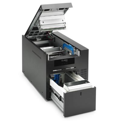plastikko ofrece impresora de tarjetas modelo zc10l zebra de prueba